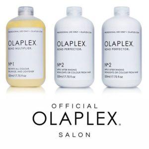 Original Olaplex Produkte gibt es bei Holz´s Köpfe Friseur Wandsbek